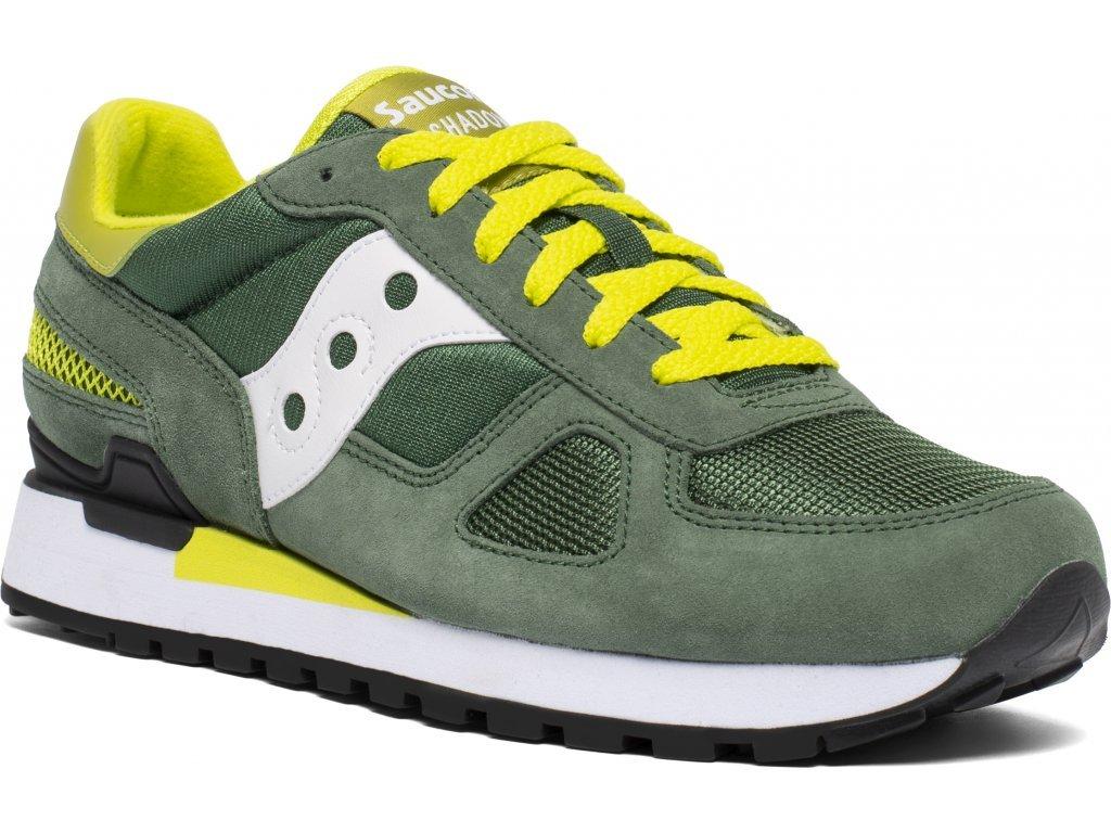 Saucony Shadow Original Green/White/Yellow